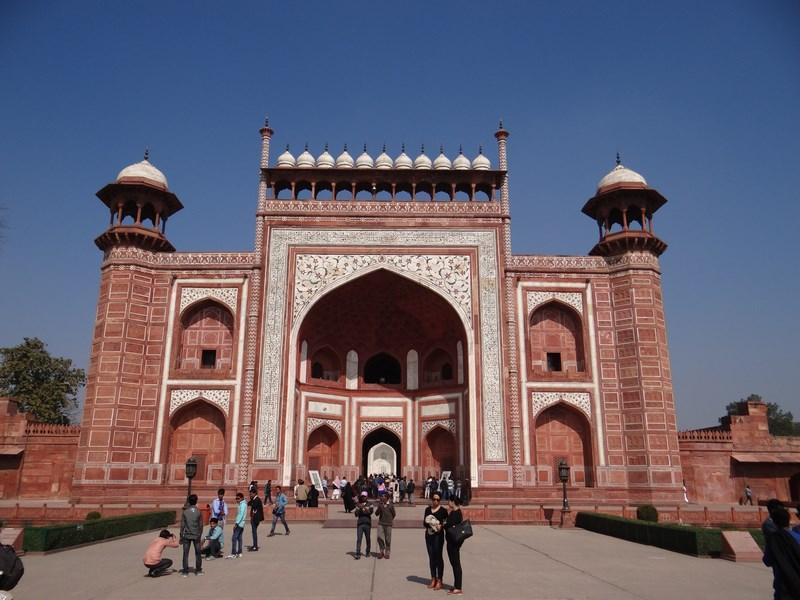 05. Intrare Taj Mahal