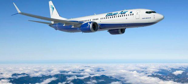 Boeing 737 MAX8 Blue Air