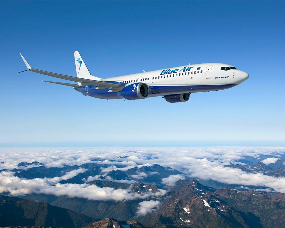 Boeing 737-MAX8 Blue Air