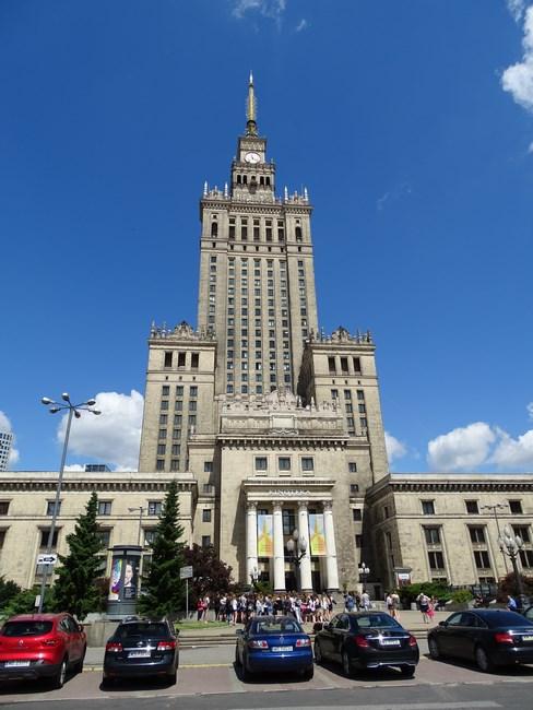 15. Palatul Culturii Varsovia