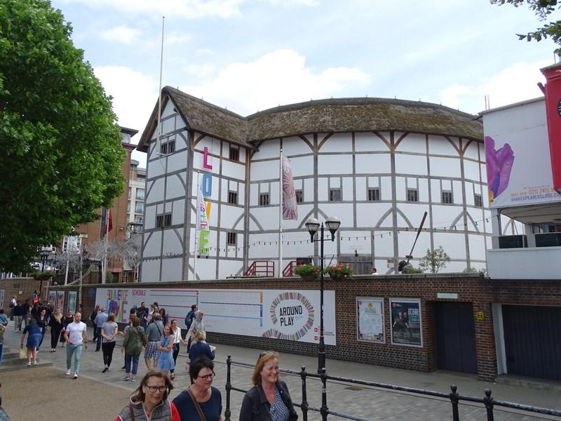 20. Shakespeare's Globe