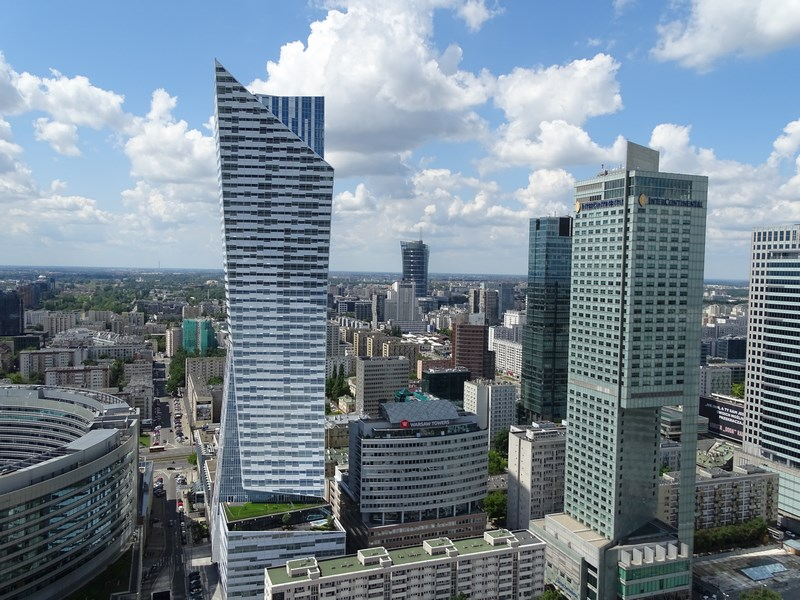 21. Cladiri Varsovia