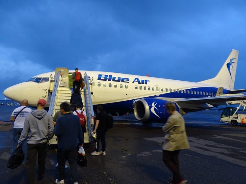 23. Blue Air la Helsinki