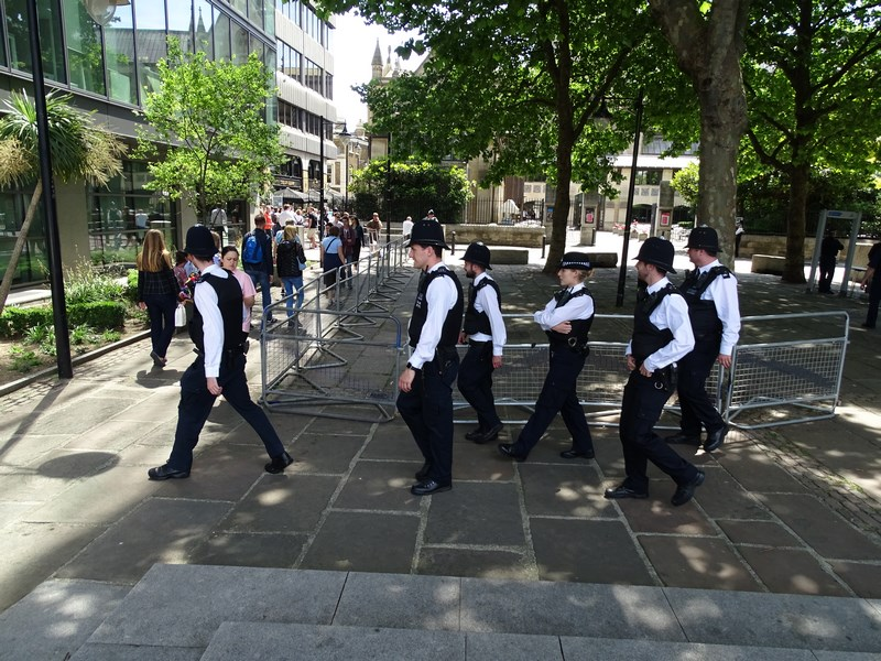 23. Politia britanica