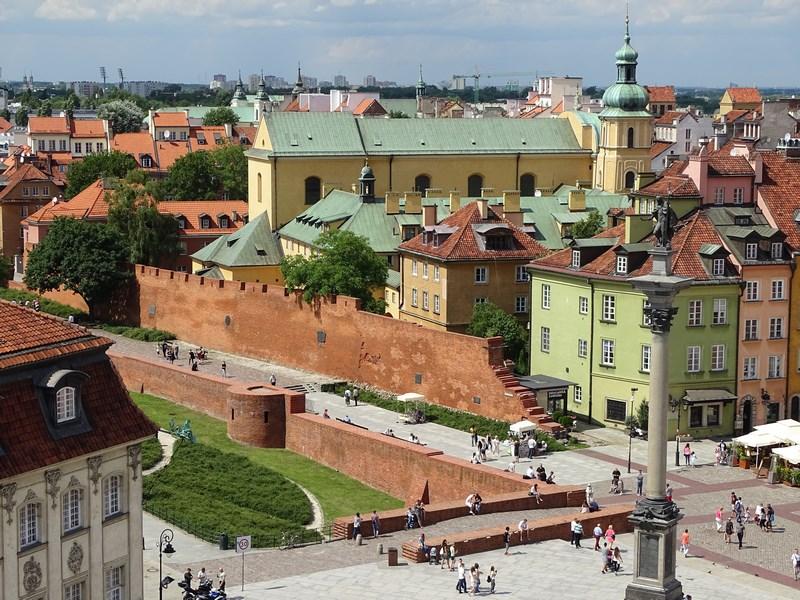 26. Centrul vechi Varsovia