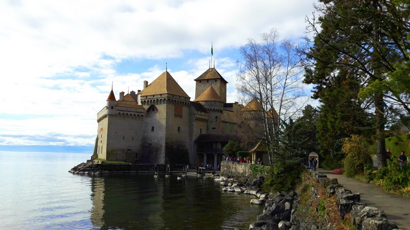 . Chillon Castle