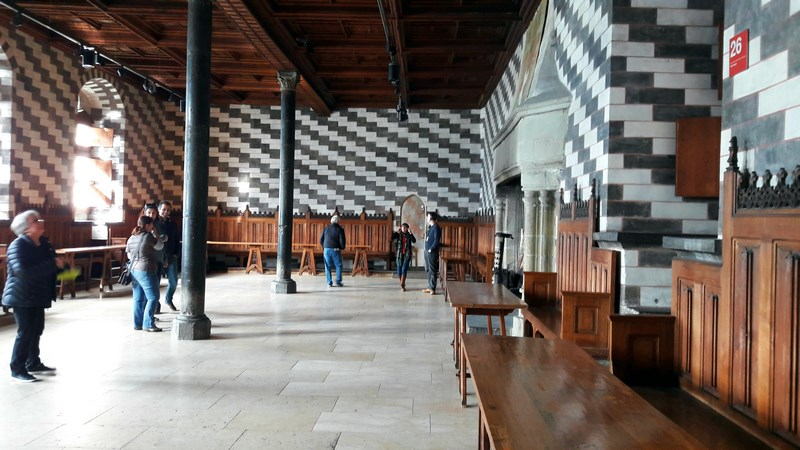 . Chillon Castle Inside