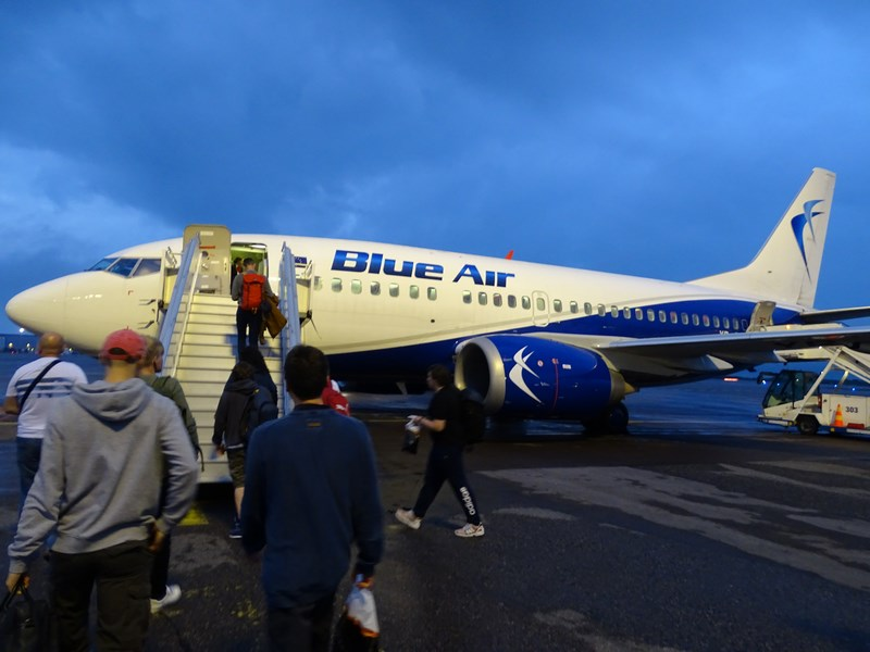. Blue Air Helsinki Bucuresti
