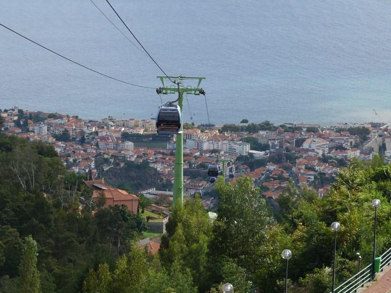 . Cu Telecabina Pestre Madeira