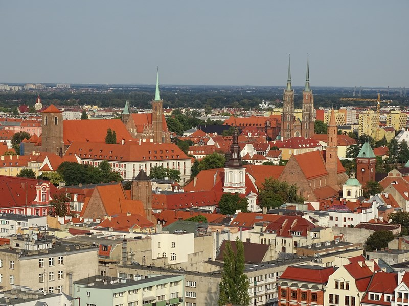 . Panorama Wroclaw