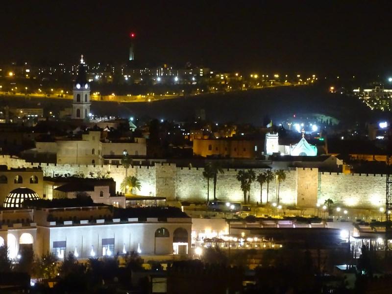 . Panorama YMCA Ierusalim