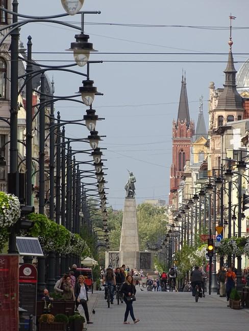 . Main Street Of Lodz
