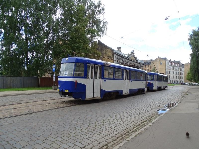 . Tramvai Riga