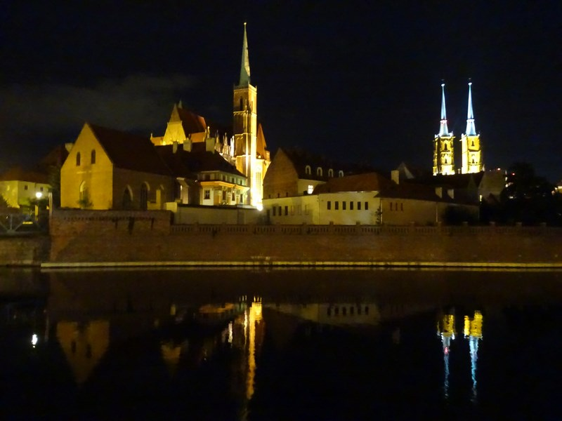 . Ostrow Tumski By Night