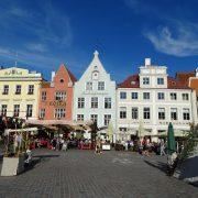 . Piata Centrala Talinn Estonia Tarile Baltice