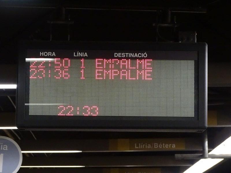 . Metrou Valencia