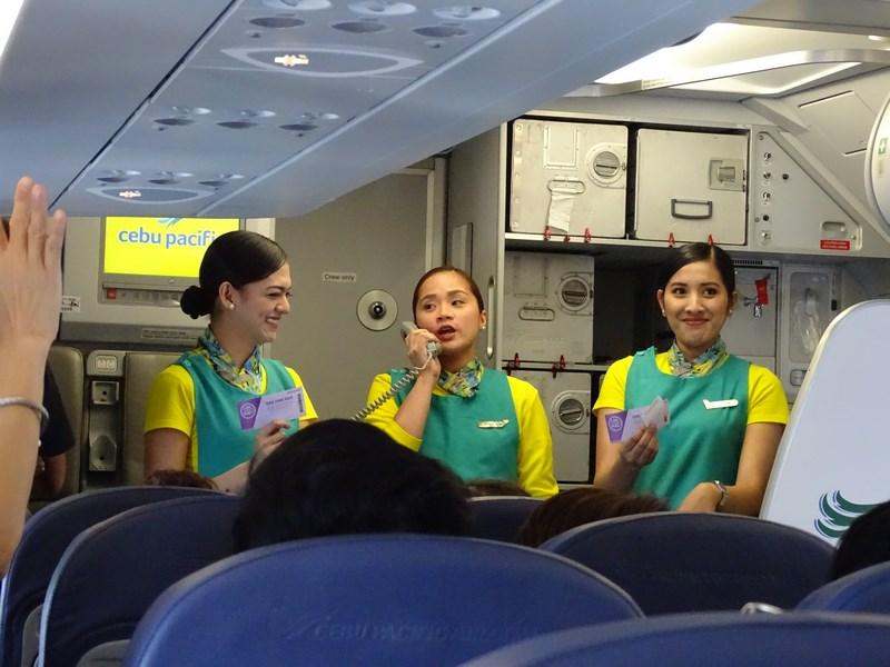 Cebu Pacific Cabin Crew