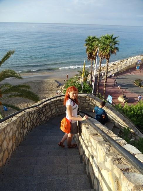 Spre Plaja Benidorm