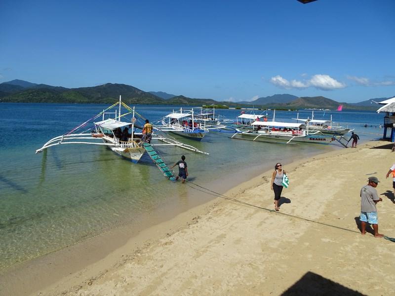 Debarcare Luli Island