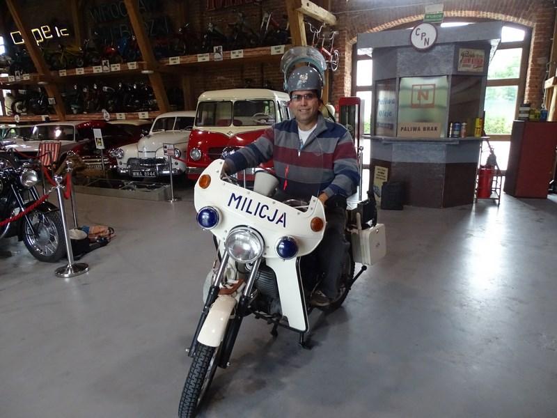 . Motocicleta Militiei