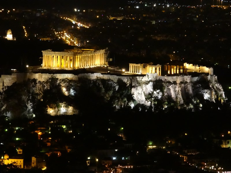 Acropole By Night