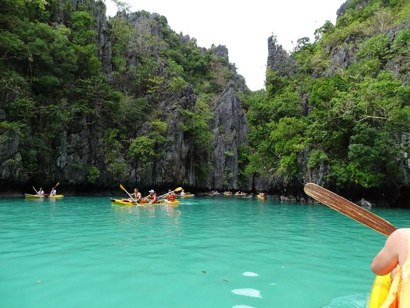 . Caiac In Small Lagoon