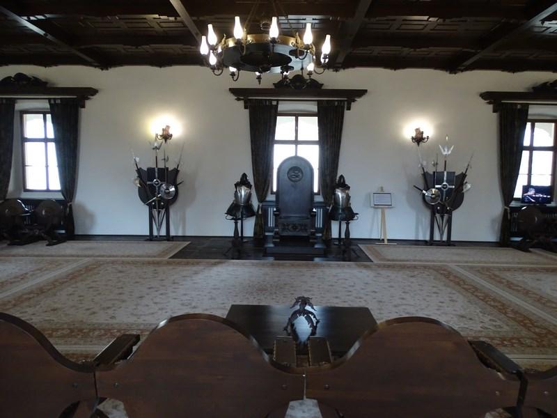 . Sala Tronului Fagaras