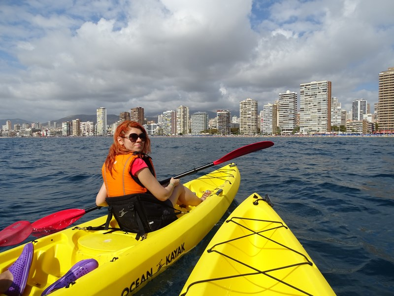 Kayak In Benidorm