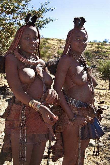 .Damaraland Femei Din Tribul Himba