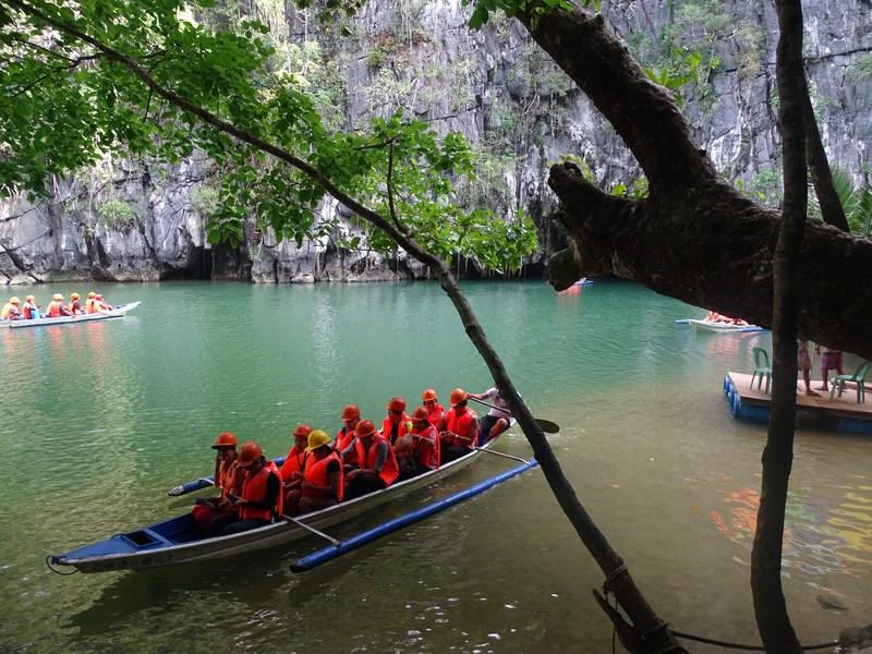 Underground River Boat