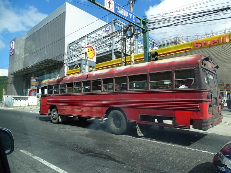 . Autobuz Guatemala