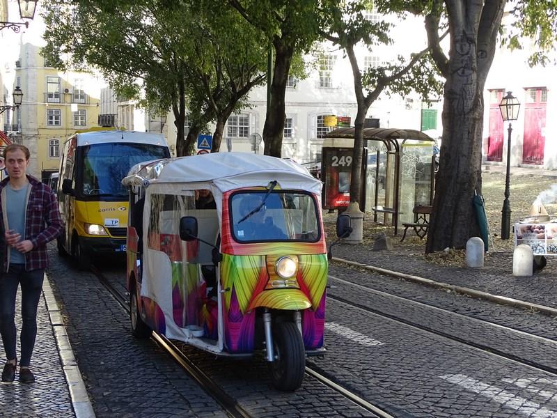Tuk Tuk Lisabona