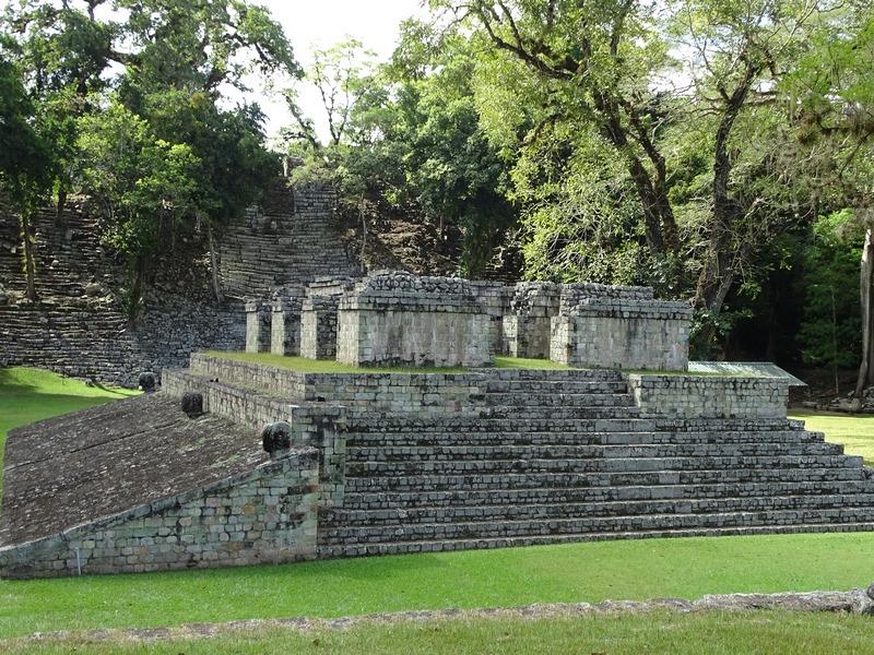 Ruine Maya Honduras