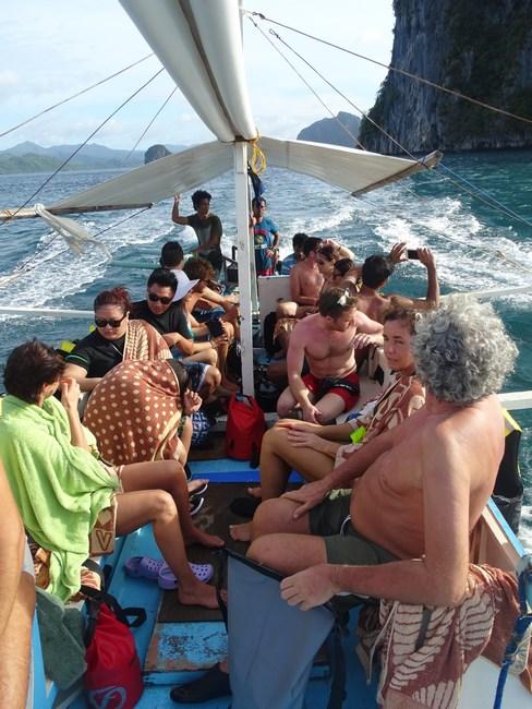 Tour B Boat El Nido