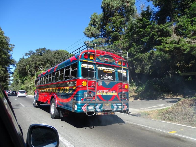 Autobuz Guatemala