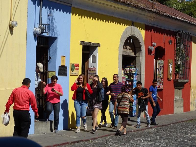 Turisti In Antigua