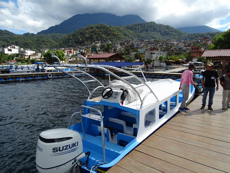 Port Santiago Atitlan