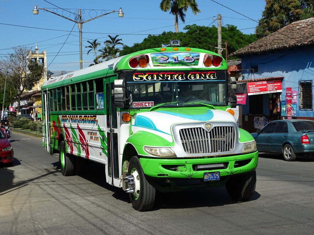 Bus El Salvador