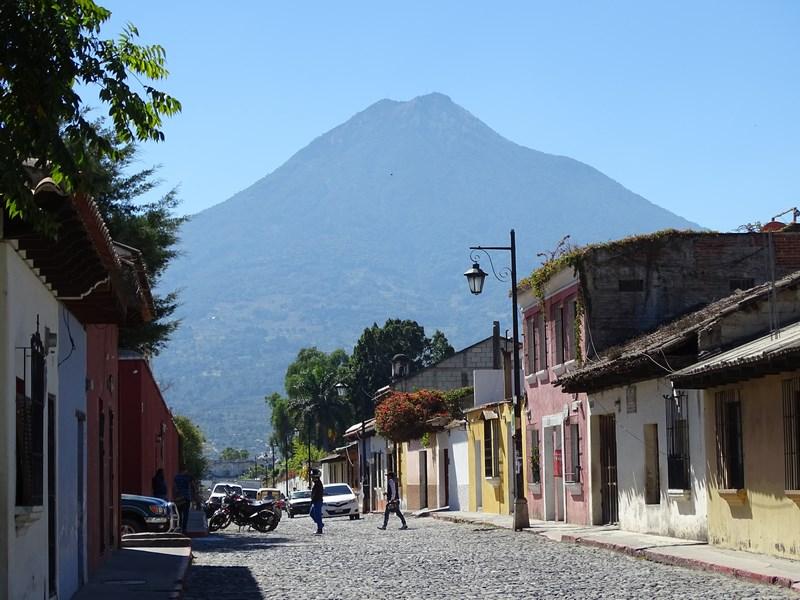 Antigua GUatemala Vulcan