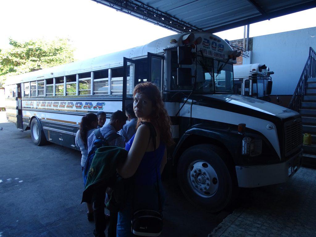 Bus Santa Ana Volcano