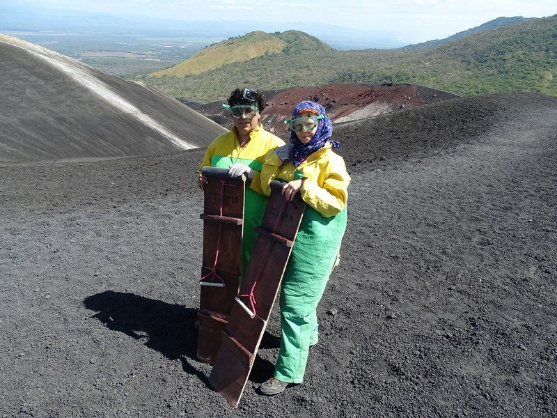 Echipament Volcano Boarding
