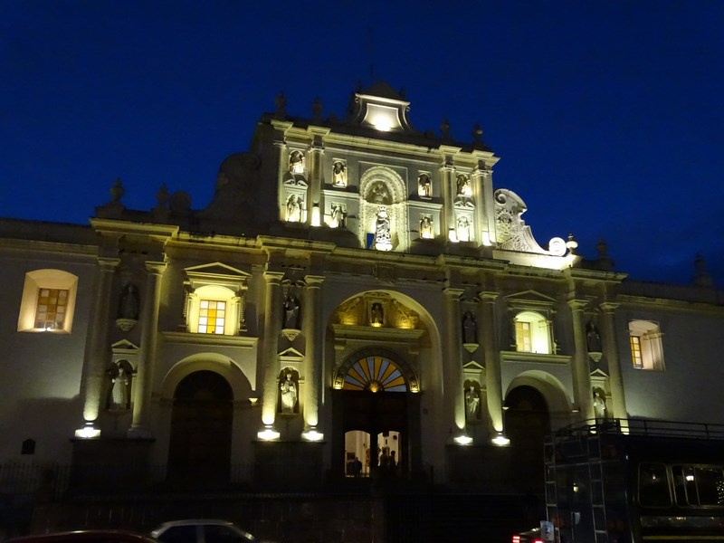 Antigua Guatemala By Night