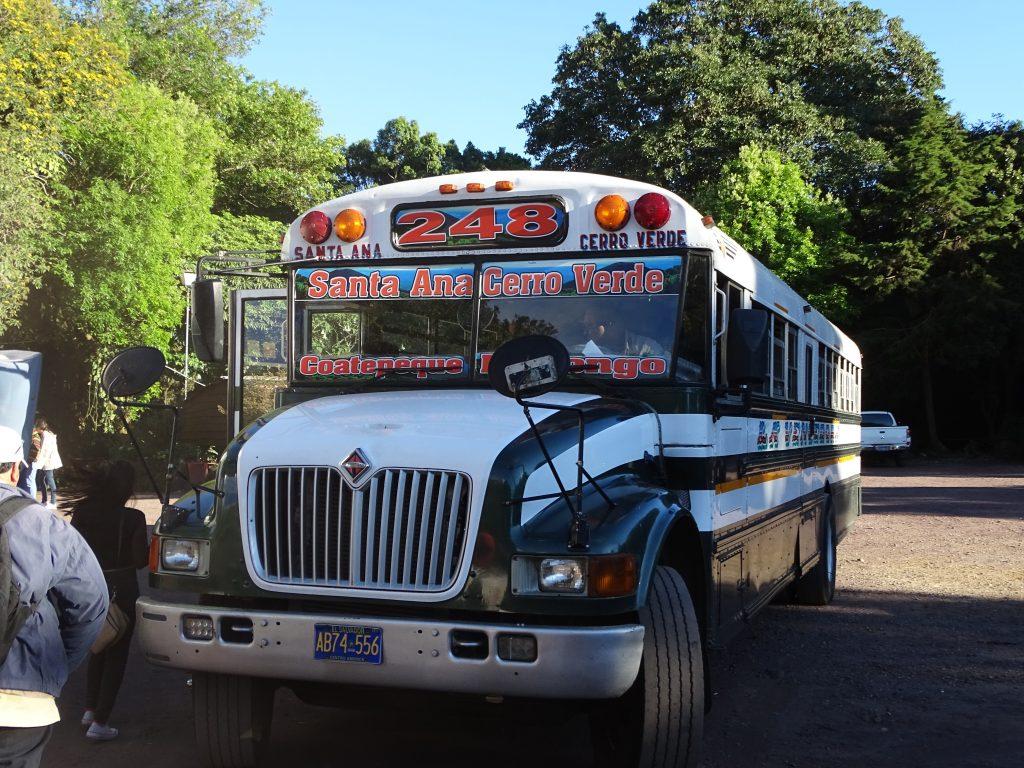 Chicken Bus El Salvador