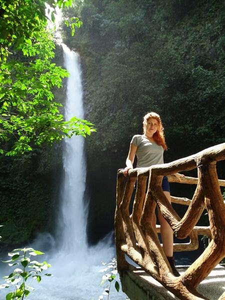 Cascada Arenal Costa Rica
