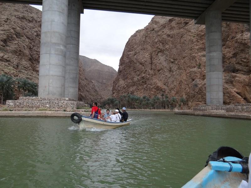 Spre Wadi Shab