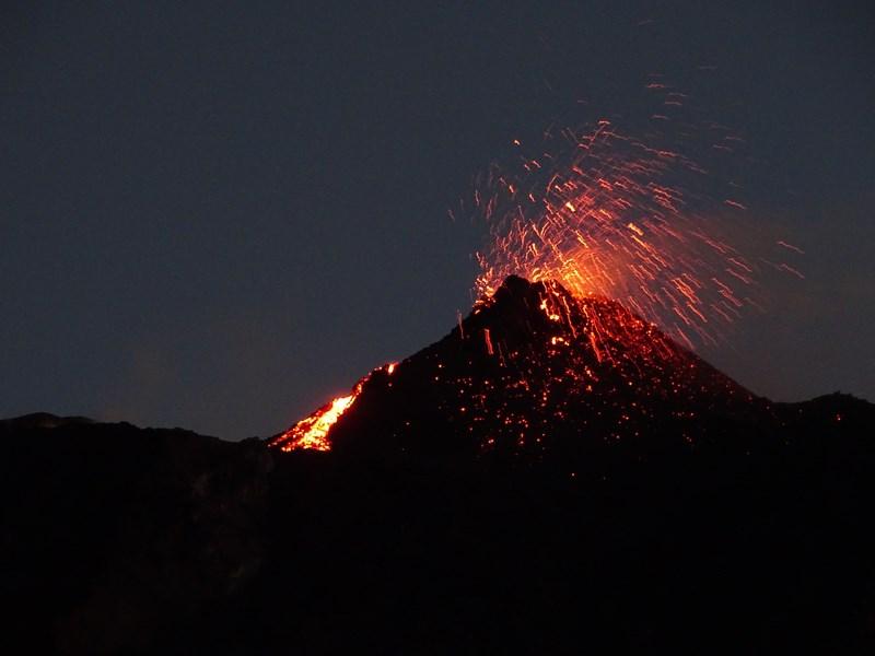 Eruptia Vulcanica