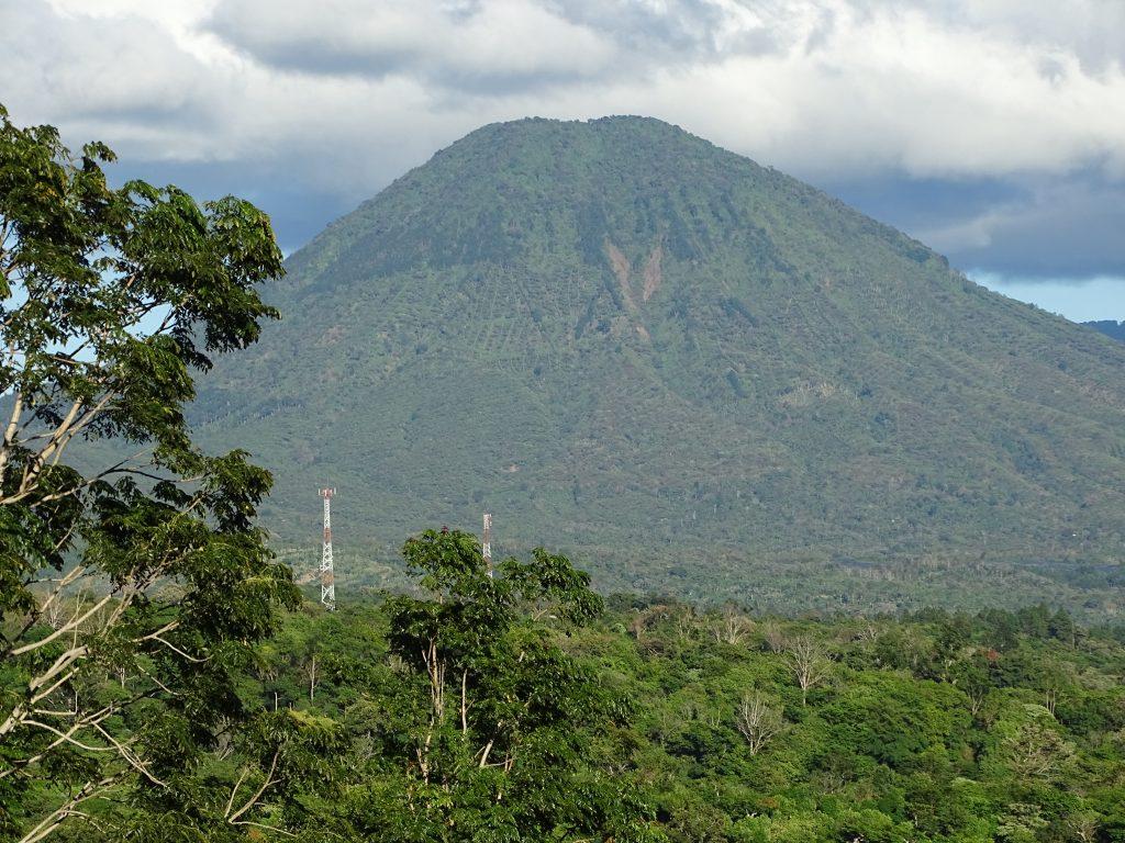 Volcano Santa Ana