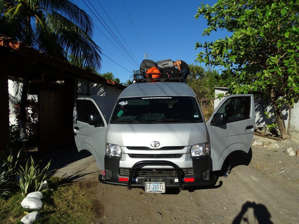 Shuttle Antigua El Tunco Leon