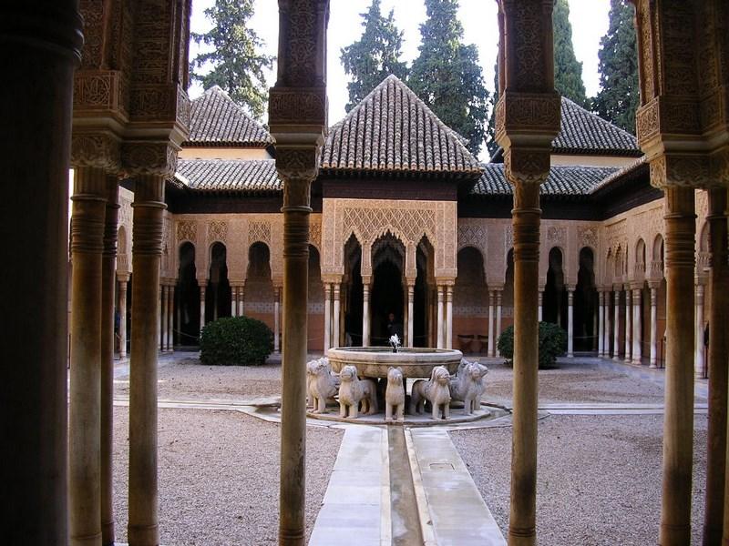 Spania Granada. Alhambra