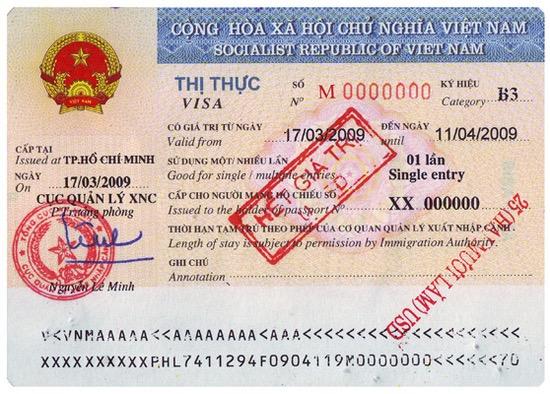 Viza Vietnam